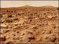 La supervivencia de formas primitivas de vida es poco probable en la superficie.