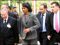 Condoleezza Rice in Aswan