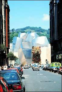 El Guggenheim no siempre gozó de la simpat�a y el apoyo de los bilbainos.