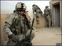 Iris facilitará la comunicación de soldados en zonas remotas.