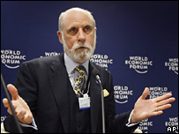 Vint Cerf ha investigado la idea de establecer internet a nivel interplanetario.