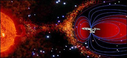 Solar Shield just like Star Trek