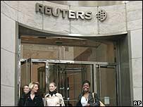Trụ sở của hãng tin Reuters của Anh tại London