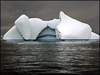Iceberg en el Océano Antártico
