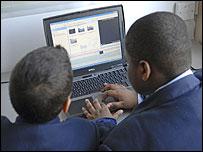 Escuela con red WiFi