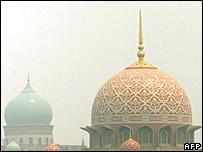 Mosque in Kuala Lumpur, Malaysia
