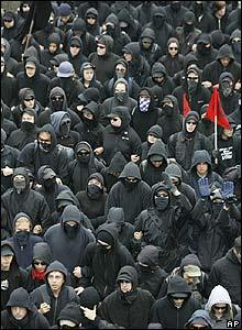 Black bloc auotnomous