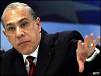 José Ángel Gurr�a, secretario general de la OCDE