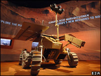 ExoMars concept (Esa)