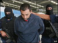 Jesus Martinez, policá mexicano acusado de colaborar con mafias.