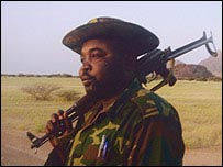 Darfur rebel leader Abdul Wahid (archive)