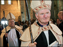 Bishops Bill Murdoch and Bill Atwood