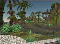 Screenshot of Second Life, Linden Labs