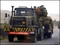 قوات تركية في سيرناك جنوب شرقي تركيا