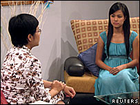 Hoang Thuy Linh on Vietnam Television
