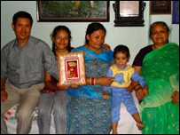 Family of the Royal Kumari