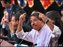 Presidente de Nicaragua, Daniel Ortega