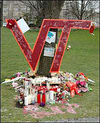 Tribute to Virginia Tech shooting victims