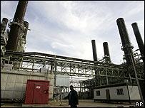 Gaza's power station on 20 January