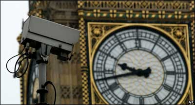 CCTV camera near Houses of Parliament, AP