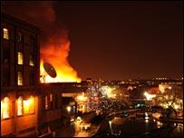 Camden Market fire