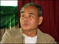 Karen National Union leader Pado Mahn Shar, pictured in January 2008