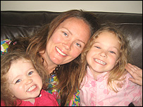 Naomi Timperley and daughters