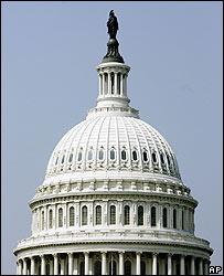 Capitolio de Estados Unidos en la ciudad de Washington.