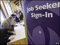 Personas en busca de empleo en California