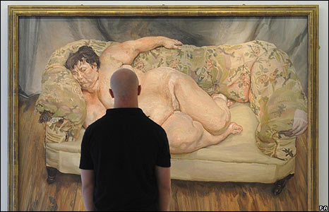 a critical look at Benefits Supervisor Sleeping by Lucian Freud
