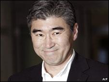 Sung Kim memimpin tim Amerika Serikat