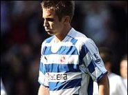 Reading striker Kevin Doyle is dejected after relegation