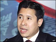 Thai minister Jakrapob Penkair 30 May 2008