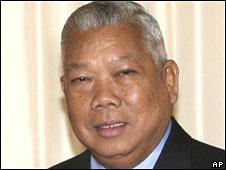 Thai PM Samak Sundaravej on 24 May 2008
