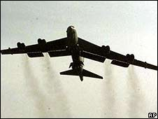 A B-52 bomber (archive image)