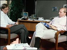 دوستان دوران دانشجویی در هاروارد ـبیل گیتس و استیو بالمرـ بیش از 28 سال است که با هم کار می کنند.