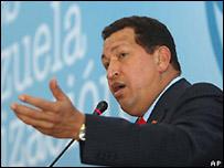 Hugo Chávez el 3 de julio