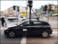 Street View car, PA