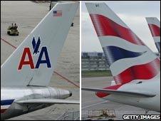 AA and BA tailfins