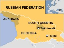 Georgia and its breakaway regions