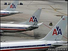 American Airlines planes (file image)