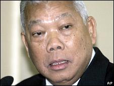Thai PM Samak Sundaravej. File photo