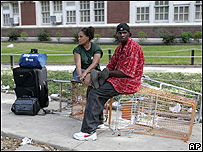 Dos habitantes de Nueva Orleans