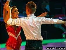 Polish Eurovision Dance Contest winners Marcin Mroczek and Edyta Herbus