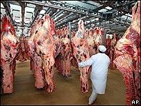 Carne refrigerada, AP
