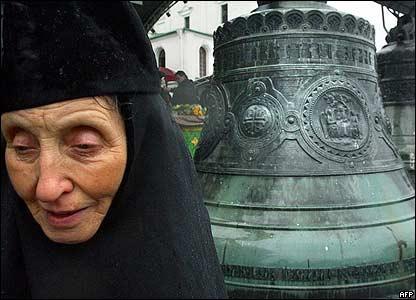 Колокола в московском храме