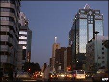 Zimbabwe's capital Harare