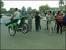 Bikers in Baghdad