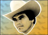 Chalino Sanchéz, un fallecido cantante de narcocorridos (Imagen: Wachtavato)