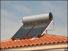Solar panel in Jerez, Spain